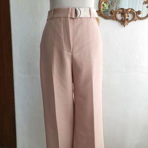 Zara Belted Pink Pants